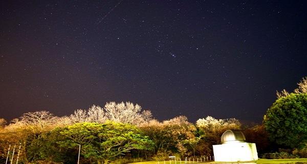 学園から見る星空